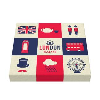 City Of London United Kingdom England Canvas Print