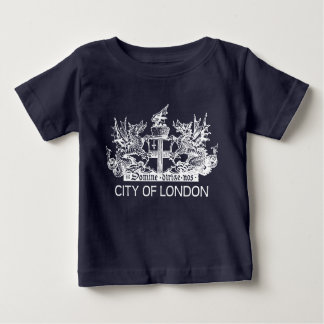 City of London, Vintage, Coat of Arms, England UK Baby T-Shirt