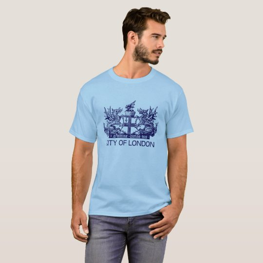 City of London, Vintage, Coat of Arms, England UK T-Shirt