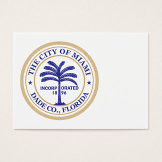 City of Miami seal Business Card