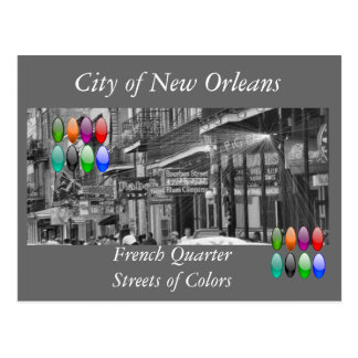 City of New Orleans Postcard
