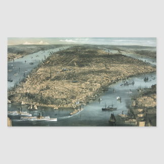City of New York in 1856 by Charles Parsons