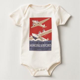 City of New York municipal airports No. 1 Baby Bodysuit