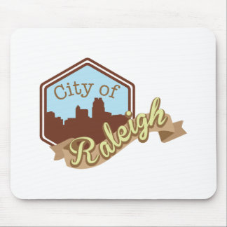 City Of Raleigh Mouse Pad
