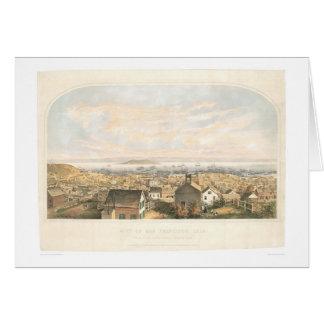 City of San Francisco, CA. 1852 (1065A) Card