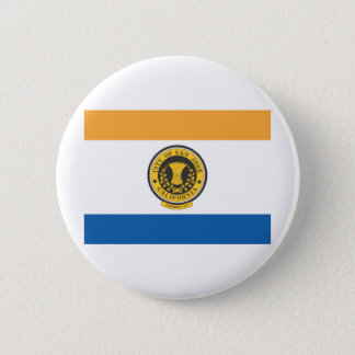 City of San Jose flag 2 Inch Round Button