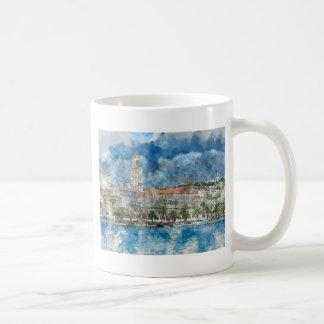 City of Split in Croatia Coffee Mug