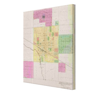 City of Sterling, Rice County, Kansas Canvas Prints
