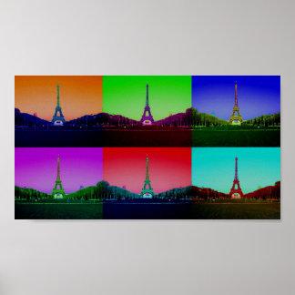 City of Technicolor Love Poster