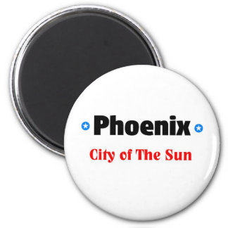 City of the sun 2 inch round magnet