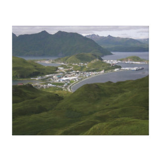 City of Unalaska, Alaska Canvas Print