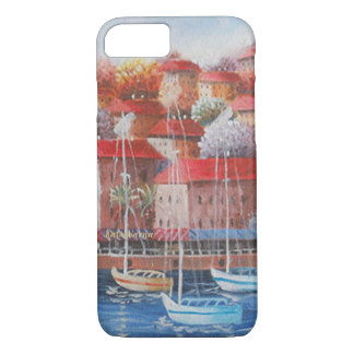 City Of Water 🏘️ Case Premium Painting iPhone 8/7