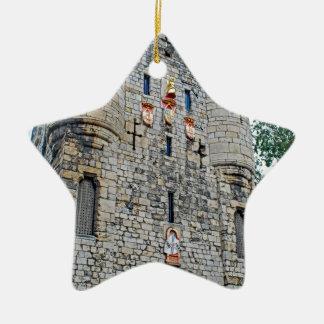 City of York Micklegate Bar Ceramic Star Ornament