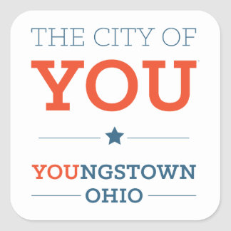 City of You Square Stickers