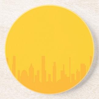 City Orangescape Coaster