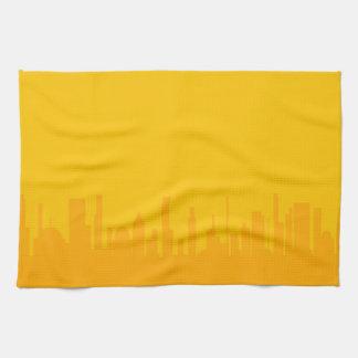 City Orangescape Towel