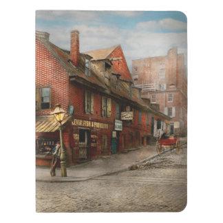 City - PA - Fish & Provisions 1898 Extra Large Moleskine Notebook
