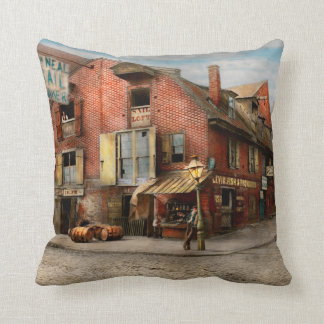 City - PA - Fish & Provisions 1898 Throw Pillow