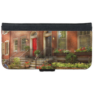City - PA Philadelphia - Pretty Philadelphia iPhone 6 Wallet Case