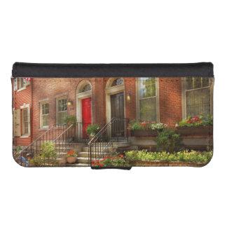 City - PA Philadelphia - Pretty Philadelphia iPhone SE/5/5s Wallet Case