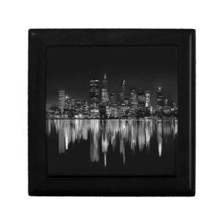 City panorama gift box
