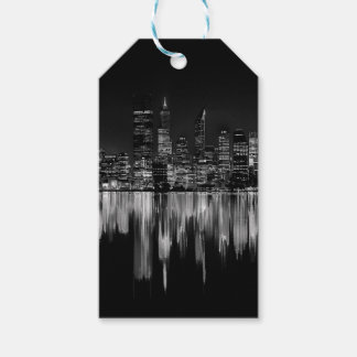 City panorama pack of gift tags