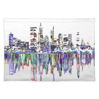 City panorama placemat