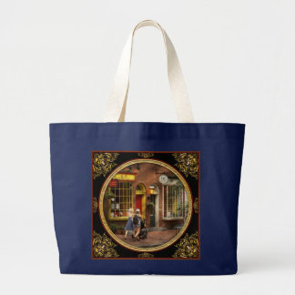 City - Philadelphia, PA - A day out with my baby Large Tote Bag