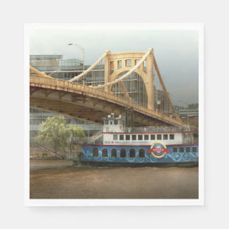 City - Pittsburg PA - Great memories Paper Napkin