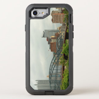 City - Pittsburg PA - The grand city of Pittsburg OtterBox Defender iPhone 8/7 Case