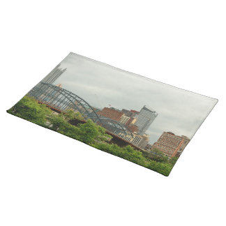 City - Pittsburg PA - The grand city of Pittsburg Placemats