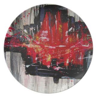 city plate