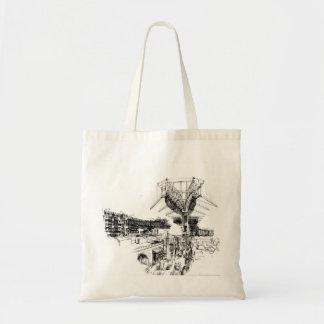 City Rebuilding Machine Tote Bag