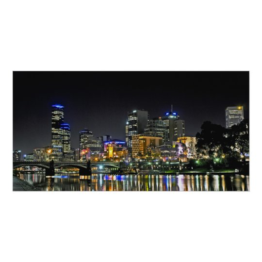 City Reflctions Panoramic Poster