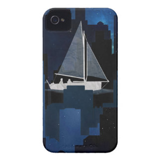 City Sailing at Night iPhone 4 Covers