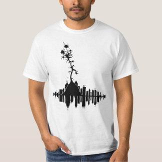 City Scape by E D T-Shirt