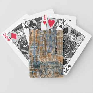 City Scene I Bicycle Playing Cards