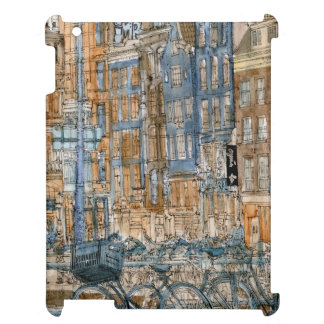 City Scene I iPad Case