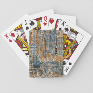City Scene I Playing Cards
