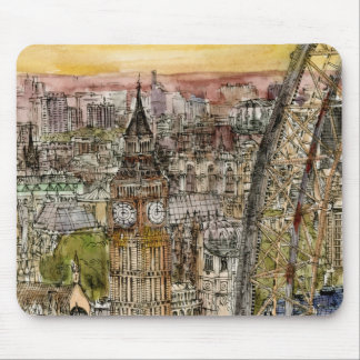 City Scene IV Mouse Pad