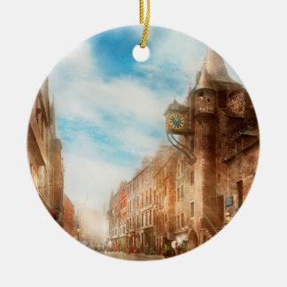 City - Scotland - Tolbooth operator 1865 Ceramic Ornament