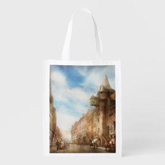 City - Scotland - Tolbooth operator 1865 Grocery Bags