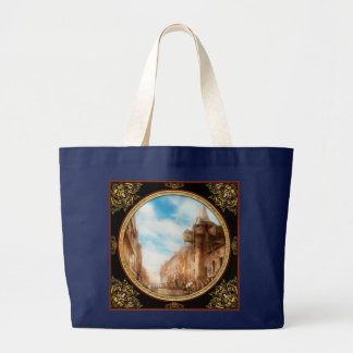 City - Scotland - Tolbooth operator 1865 Large Tote Bag