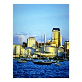 City Skyline, Auckland, North Island Postcard