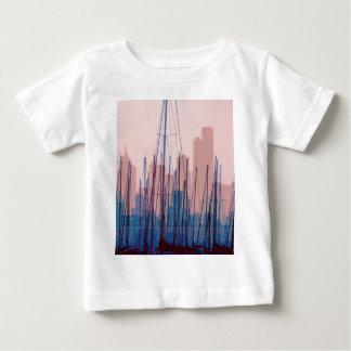 City Skyline Baby T-Shirt