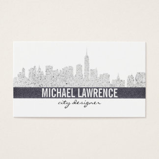 City Skyline Business Card