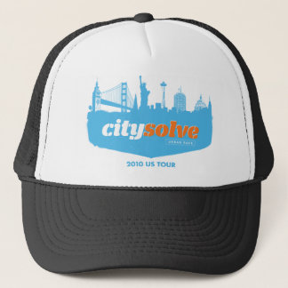 City Solve 2010 Cityscape Trucker Hat
