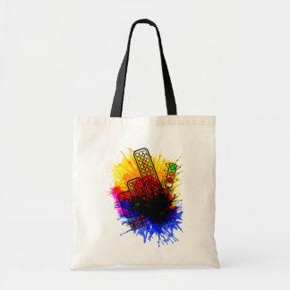 city splatter Bag