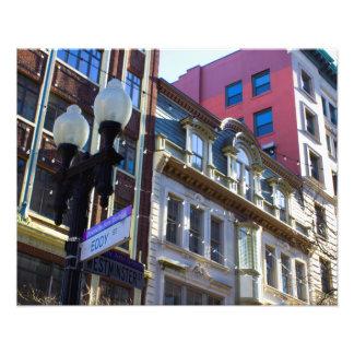 "City Street 2 20"" x 16"" Print"