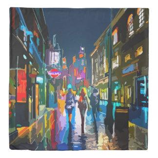 City Street Duvet Cover